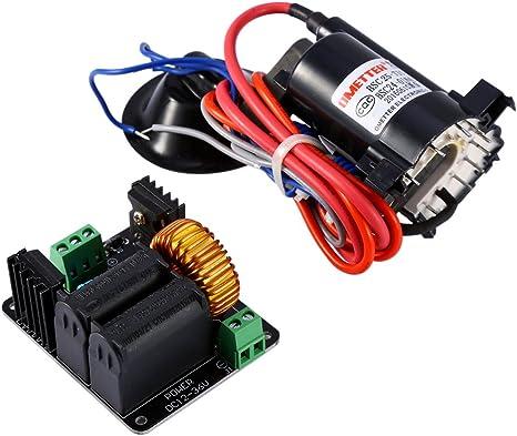 Circuito del conductor de la bobina del Flyback de 12V-36V para el generador SGTC Marx / escalera de Jacob + bobina de encendido: Amazon.es: Electrónica