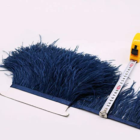 HOT PINK//BLACK 2 COLOUR BLONDENE SOFT OSTRICH FEATHER FASHION DISPLAY