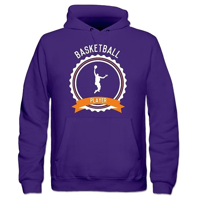 Shirtcity Sudadera con Capucha niño Basketball Player Emblem by: Amazon.es: Ropa y accesorios