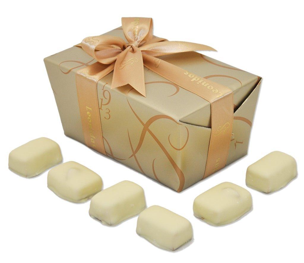 Leonidas Belgian Chocolates: 1.50 lb Signature Manon Café & Manon Blanc Ballotin