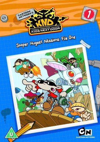 Codename - Kids Next Door: Sooper Hugest Missions - File 1 [DVD] [2006]