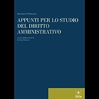 Appunti per lo studio del diritto amministrativo