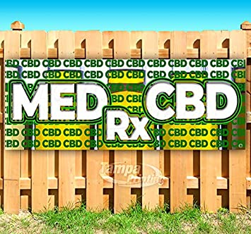 Cannabis Oil No THC 13 oz Banner Heavy-Duty Vinyl Single-Sided with Metal Grommets