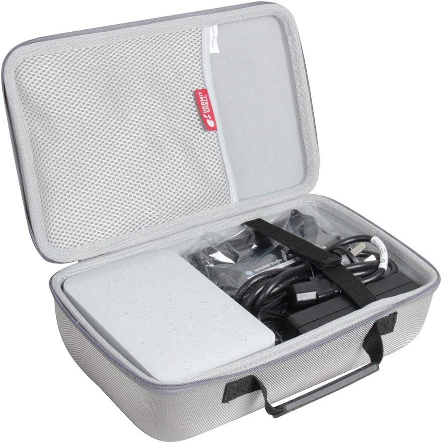 Hermitshell Travel Case for HP Sprocket Studio Photo Printer (Grey)