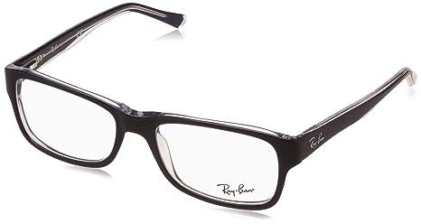 Unisex-Adults 5268 Optical Frames, Negro, 55 Ray-Ban