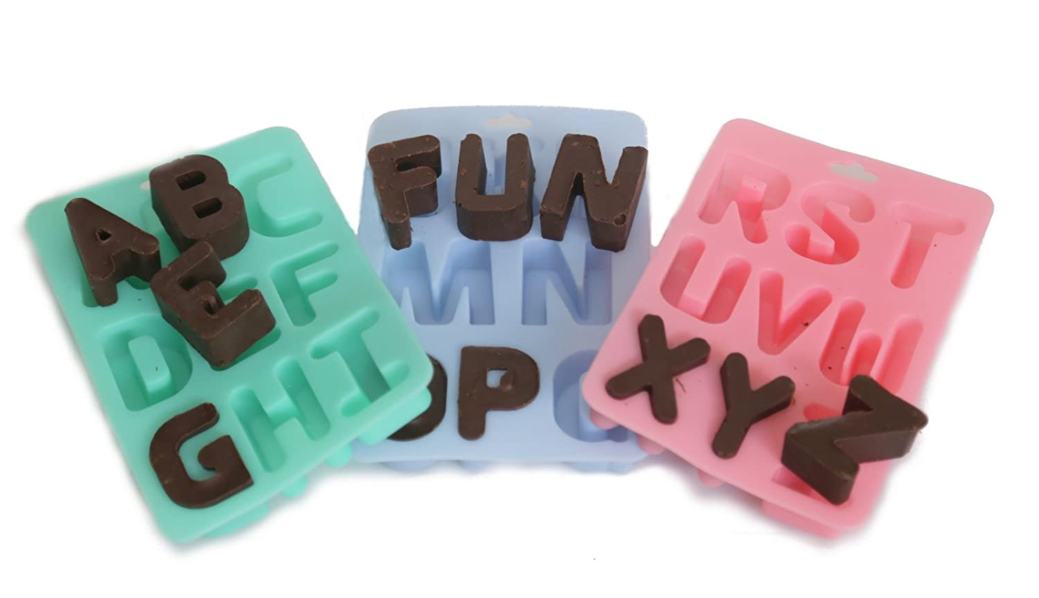Bebelephant Silycone A to Z Letter Bake/ Ice Tray 11005 Bakeware Ice Trays alphabet tray