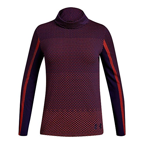 Price comparison product image Under Armour Girls Seamless Cozy Long sleeve Shirts,  After Burn (877) / Purple Switch,  Youth Large