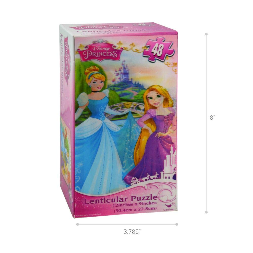 f69edb48c9cc Amazon.com: Disney Princess Lenticular Puzzle, Tower Box Easy to ...