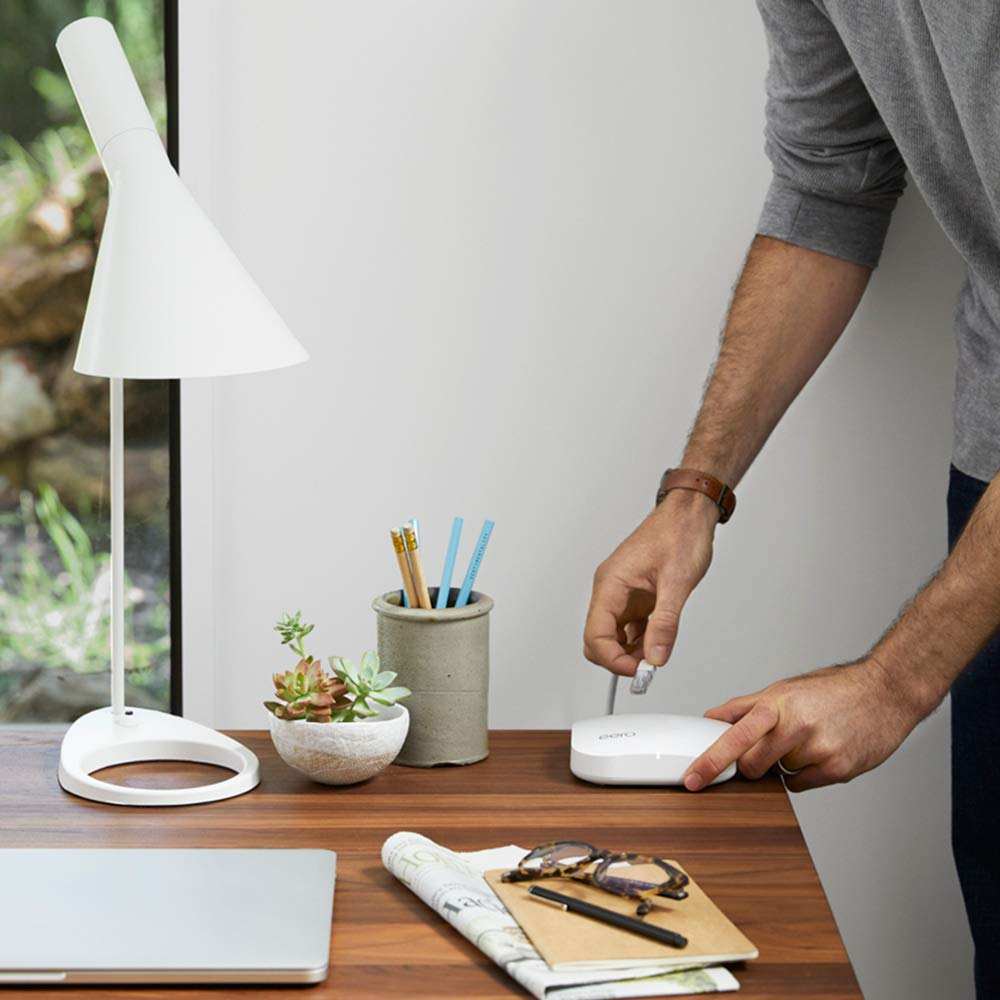 eero Pro - Advanced Pro-Grade Tri-Band Mesh WiFi System to Replace Traditional Routers and WiFi Range Extenders - Single eero Pro for homes and apartments by eero (Image #4)