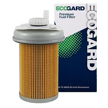 ecogard xf54719 diesel fuel filter - premium replacement fits chevrolet  k3500, c3500, k2500,
