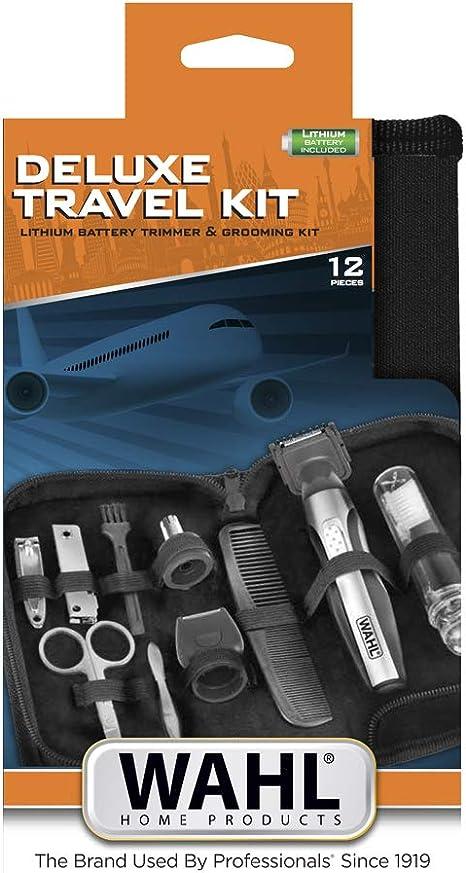 Wahl Kit De Viaje Deluxe - Recortadora De Batería De Litio Y Kit De Aseo 1 Unidad 242 g: Amazon.es: Salud y cuidado ...