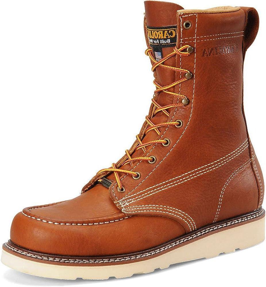 8 Inch Domestic Moc Toe ST Wedge Boot