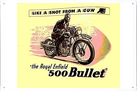 Amazon.com: The Royal Enfield 500 Bullet 7.8
