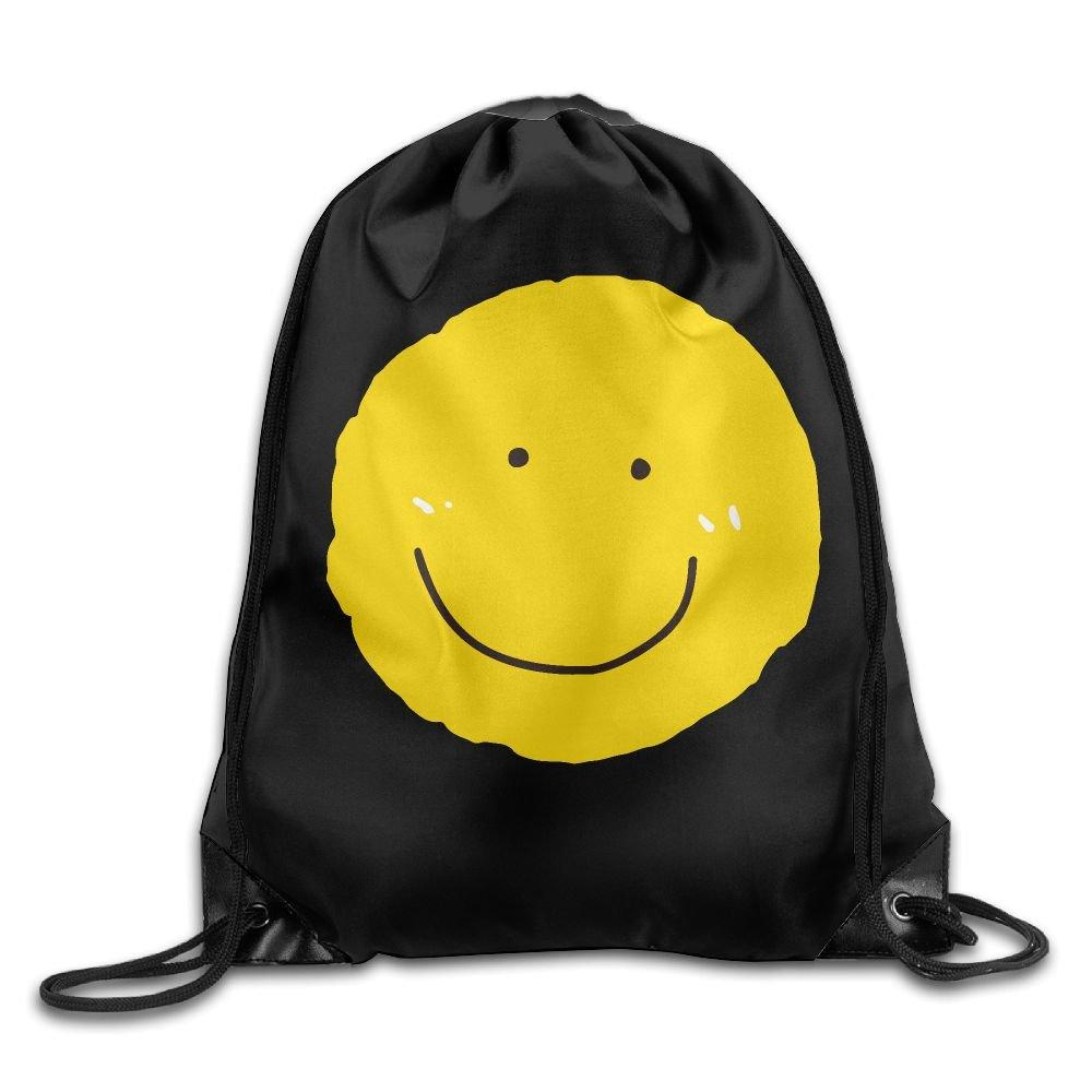 VIMUCIS Smile Sun Drawstring Backpack Rucksack Shoulder Bags Training Gym Sack For Man And Women