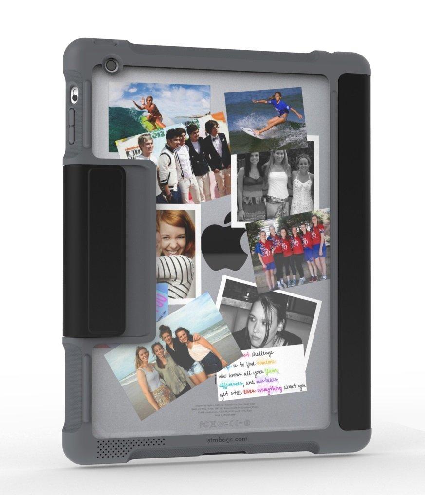 STM Apple Dux - Funda con Tapa para iPad Air, Color Negro: Amazon.es: Informática
