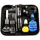 Electop Watch Repair Tool Kit Professional Watch Band Link Pin Tool Set Spring Bar Tool Set Watch Battery Replacement Tools