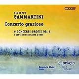 Giuseppe Sammartini: Concerto grazioso - 6 Concerti grossi, Op. 5 [Capriccio Barock Orchester; Dominik Kiefer] [Tudor: TUD7186]