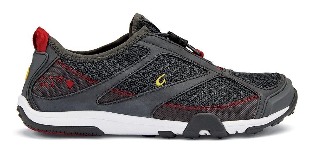 OLUKAI Eleu Trainer Shoe - Women's B010EAW2FG 8.5 B(M) US|Dark Shadow/Deep Red