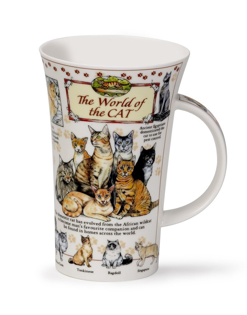 16.9 Oz Dunoon Glencoe World Of The Cat Mug