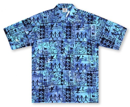 Rum Reggae Tiki Lounge Hawaiian Shirt