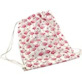Bada Bing Clubsack Flamingo allover Turnbeutel Einkaufstasche Hipster Trend