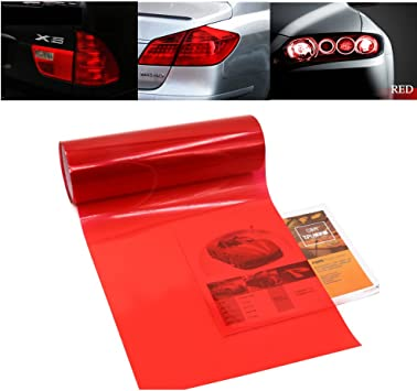 2-Inch by 6-Feet Single Roll Duck Brand 896026 Automotive Tail Light Tape Red