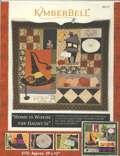 Home Is Where the Haunt Is Wallhanging Pattern By Kimberbell by Kimberbell