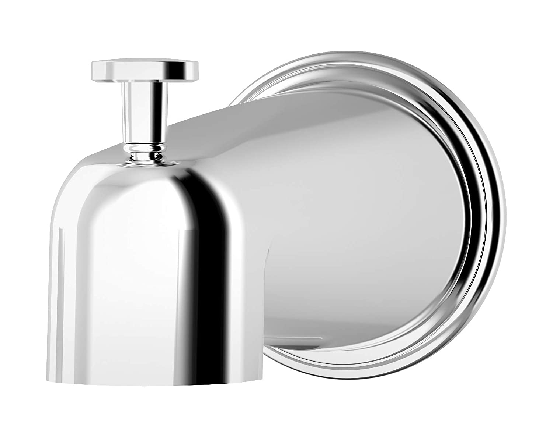 Polished Chrome Symmons 552TSD Elm Diverter tub spout