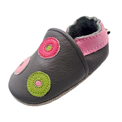 85c6a9900d72 iEvolve Baby Shoes Baby Toddler Soft Sole Prewalker Baby First Walking Shoes  Crib Shoes Baby Moccasins