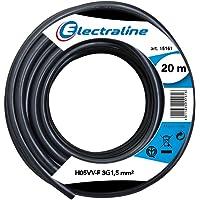 Electraline 11765, Cable para Extensiones H05VV-F, Sección 3G1.5