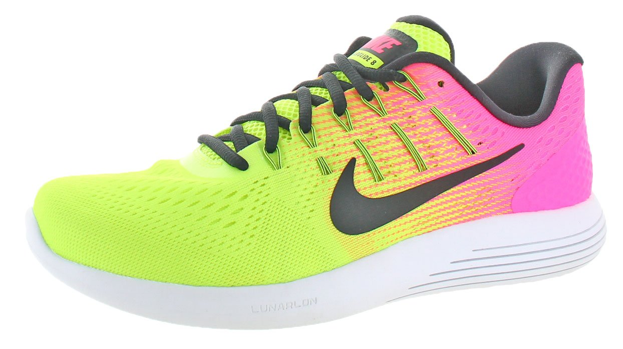 Nike Mens Lunarglide 8, Black / White - Anthracite B019DN20AM 11 D(M) US|Multi-color/Multi-color
