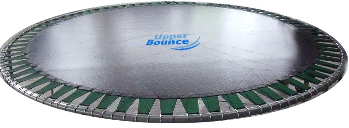 Trampoline Replacement Jumping Mat, fits for 8 FT. Round Frames with 48 V-Rings, Using 5.5'' springs -MAT ONLY by Upper Bounce (Image #1)