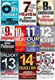 James Patterson Women's Murder Club Series 10 Books Collection Set