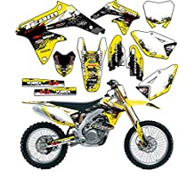 Team Racing Graphics kit for 1993-1995 Suzuki RM 125/250, SCATTER