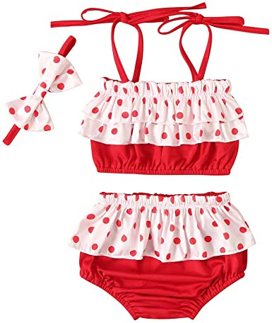 Enfants Filles One-piece de bain Maillots de bain bébé Floral Beachwear Maillot de bain