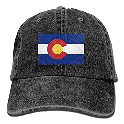 Colorado Flag Snapback Unisex Adjustable Baseball Cap Dad Hat by Brecoy