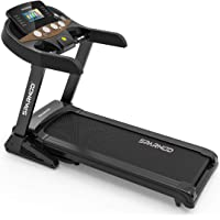 Sparnod Fitness STH-5500 (5 HP Peak) Treadmill Machine for Home (Free Installation Service) – 7-inch Touchscreen with…