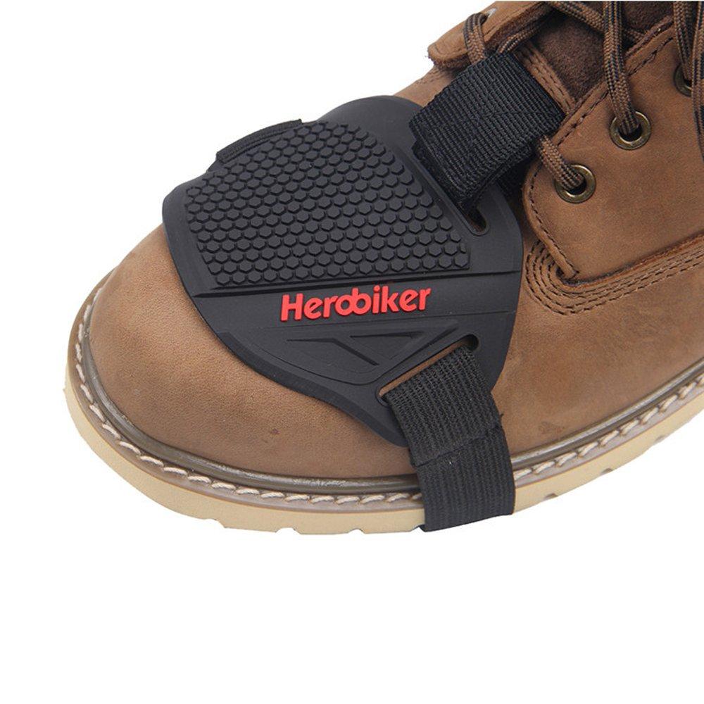 HEROBIKER Motorcycle Gear Shifter Shoe Boots Protector Shift Sock Motorcycle Boot Cover Protective Gear (MXT1001 01)