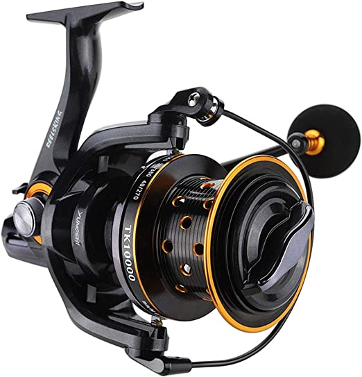 Spinning Carretes de Pesca 14 + 1BB Full Metal Carrete trolling ...
