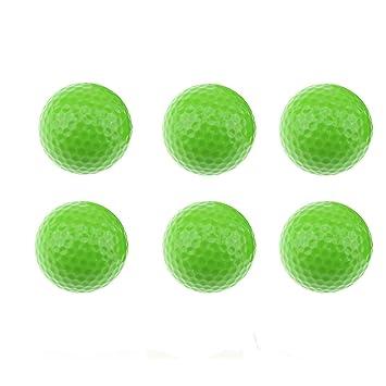 Paquete de 6 bolas de golf con diseño de pelotas de golf para ...