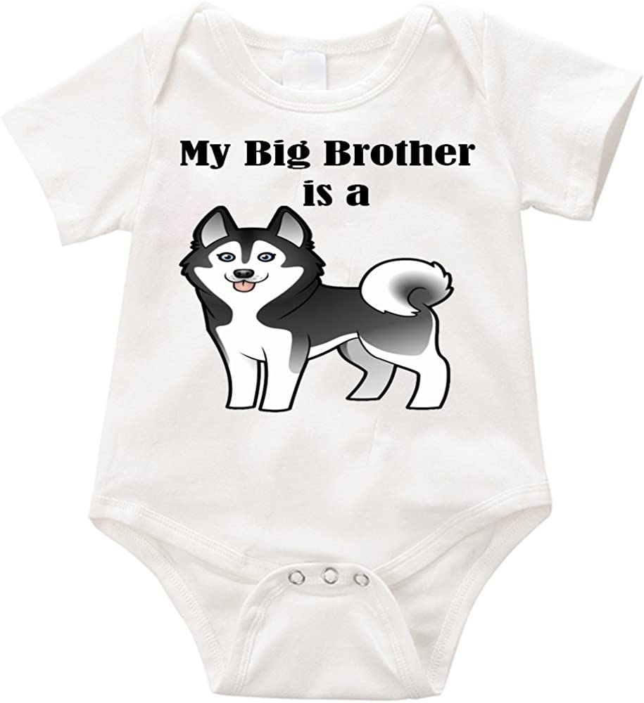 Clothes socks Cute Funny Shiba Inu Dog Unisex Infant Baby Short Sleeve Cotton Bodysuit Onesies