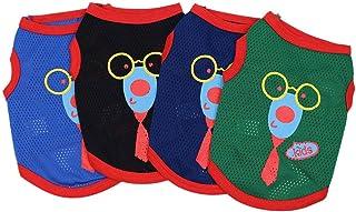 Lomsarsh Nouveau Chien d'été t Shirt Gilet vêtements pour Animaux de Compagnie vêtements Respirant Maille Gilet Costumes Protection Mode vêtements Mignons
