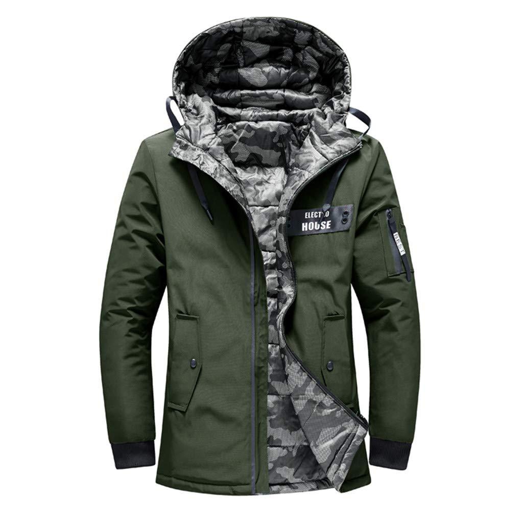 Zulmaliu-men down jacket UNDERWEAR メンズ B07KQ7FWXQ アーミーグリーン X-Large