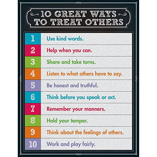 - Carson Dellosa 10 Great Ways to Treat Others Chart (114123)