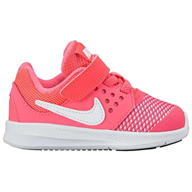 super popular b620d 02432 Nike Girls First Walking Shoes Pink ROSA Fluo Pink Size 6-7 Child UK  Amazon.co.uk Shoes  Bags