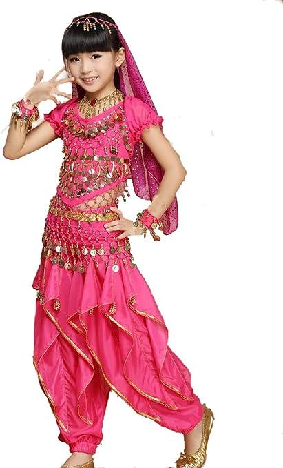 ZYLL Disfraz de Danza Infantil para niños Disfraces de Performance ...