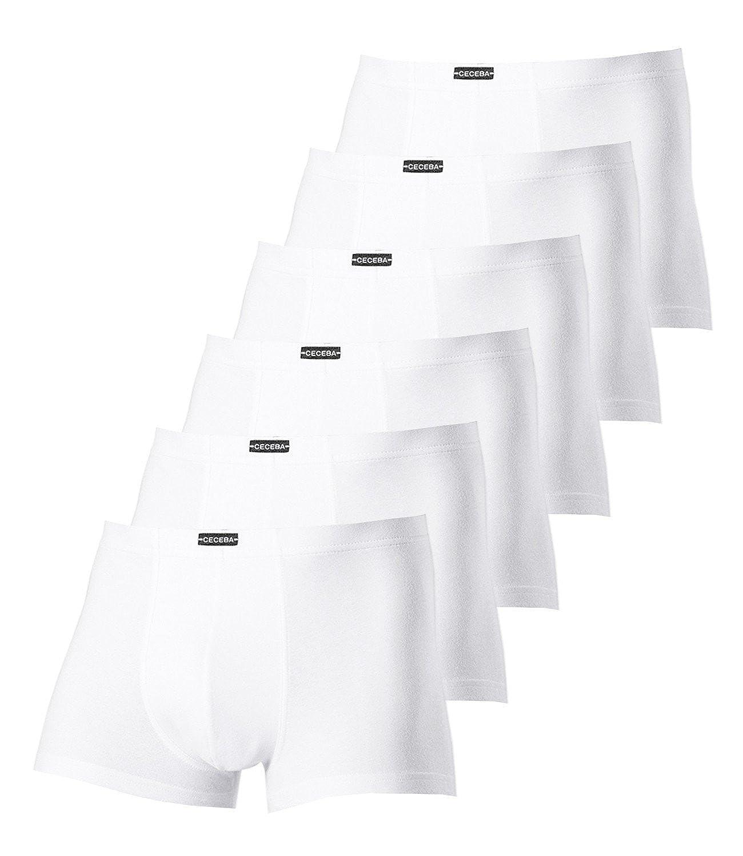 Ceceba Herren Pants 2700 6er Pack Weiß