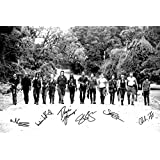 THE WALKING DEAD CAST X14 SIGNED PHOTO PRINT N.O 3 - SUPERB QUALITY - 12 X 8 INCHES (A4) -