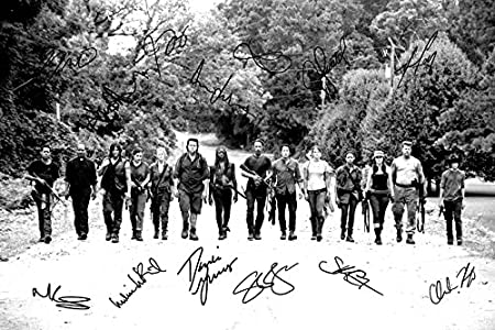 Blood Danai Gurira Pre signed The Walking Dead cast photo print poster