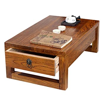 Couchtische Tee Tisch Tatami Massivholz Erker Tisch Antik Kampfer Holz  Tisch Tisch Niedrigen Tisch Einfache Kleine